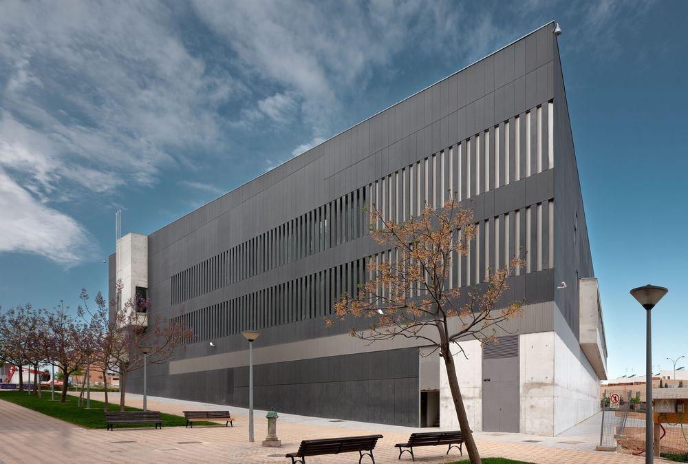 Tudela courts in navarra spain by otxotorena arquitectos - Arquitectos navarra ...