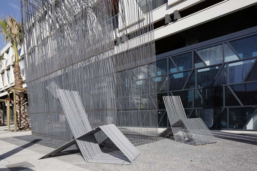 le pavillon du fav 2013 in la grande motte france by david. Black Bedroom Furniture Sets. Home Design Ideas