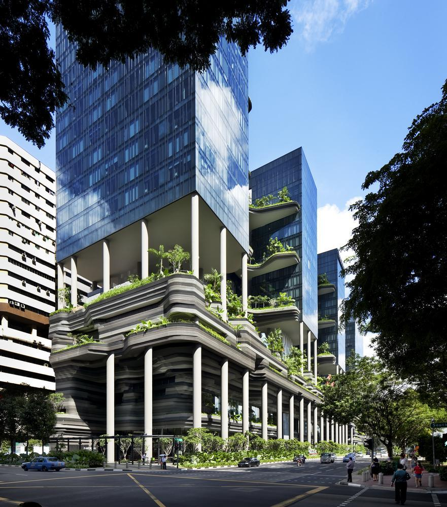 Archshowcase Parkroyal In Pickering Singapore By Woha