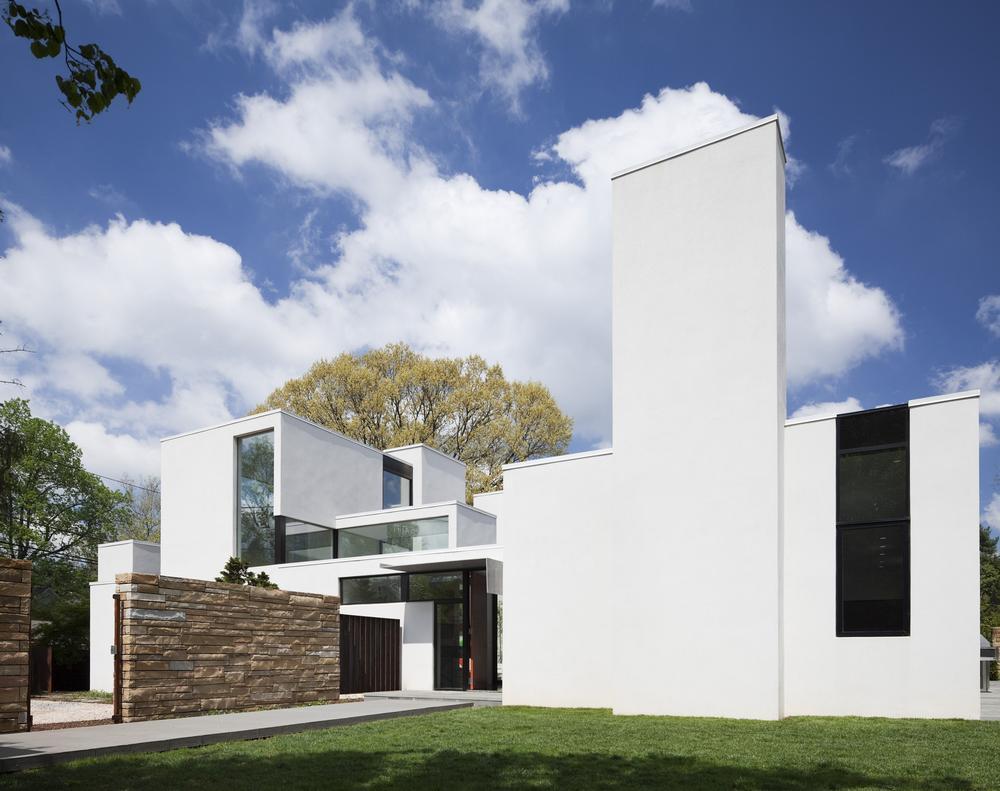 Jigsaw Residence in Bethesda, Maryland by David Jameson Architect