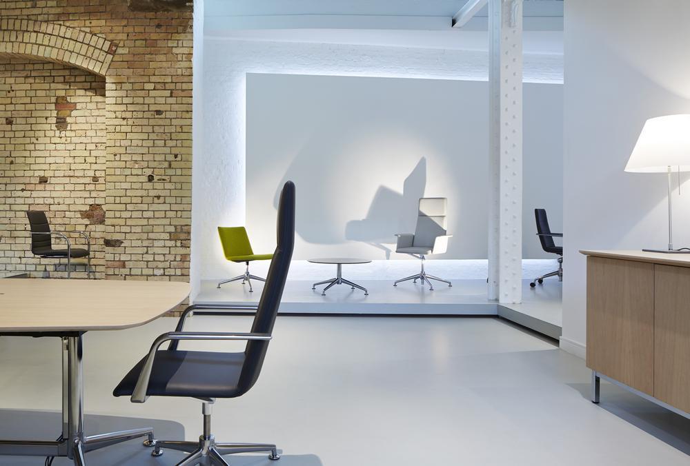 Brunner Furniture Showroom In London, U.K By McDowell+Benedetti