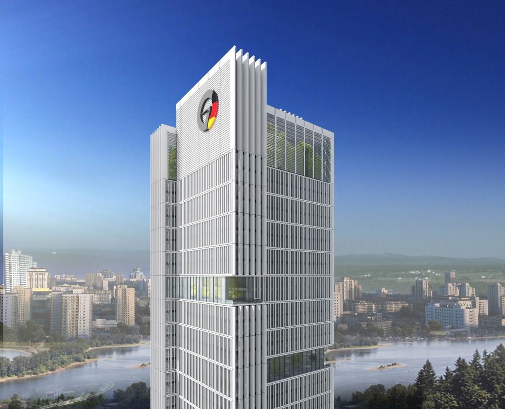 Foshan german service center in china by gmp architekten von - Gmp architektur ...