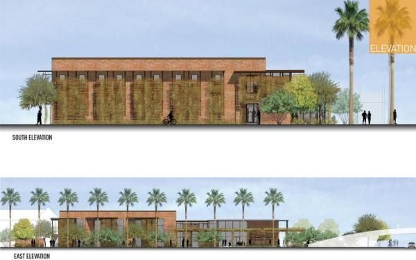ASU Student Health Services Building , Image Courtesy © Lake|Flato Architects