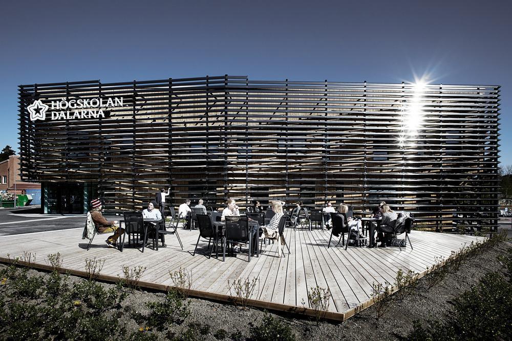 ArchShowcase - DALARNA MEDIA LIBRARY in FALUN, Sweden by ADEPT