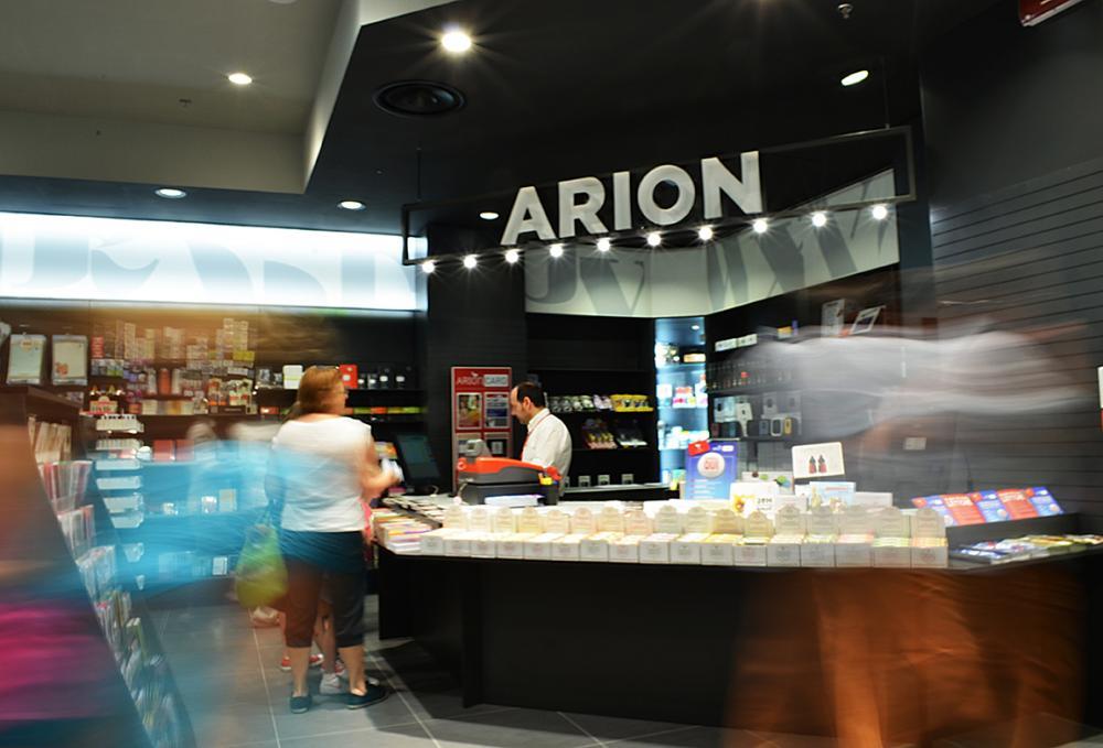 Libreria Arion Porta di Roma – Interior, product and