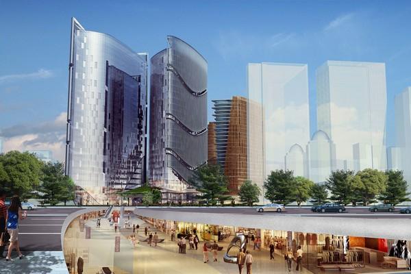 AECCafe: Green Dunes in Dongcheng, Beijing by Girimun Architects