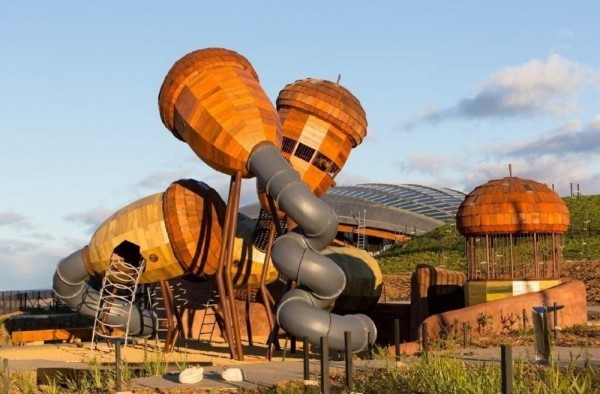 National Arboretum Canberra, Australia, designed by Taylor Cullity Lethlean and Tonkin Zulaikha Greer