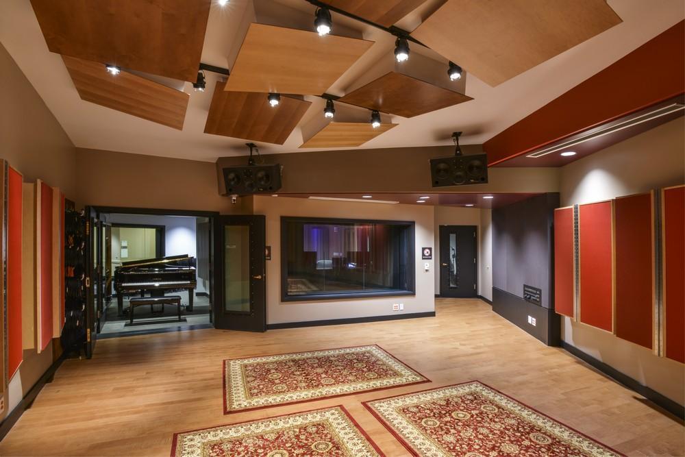 Berklee college of music opens major wsdg designed audio for Recording studio live room design