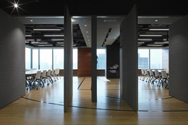 View into the conference rooms, Image Courtesy © openUU ltd