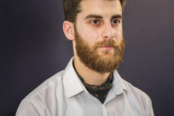 Male staff uniform with cravat, Image Courtesy © Gareth Gardner