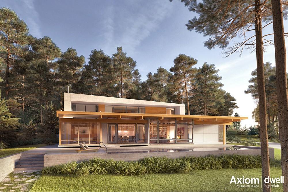 Archshowcase Modern Prefab House By Dwell Turkel Design