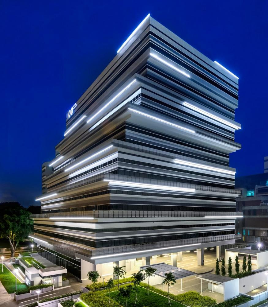 100pp Office Building In Singapore By Ministry Of Design