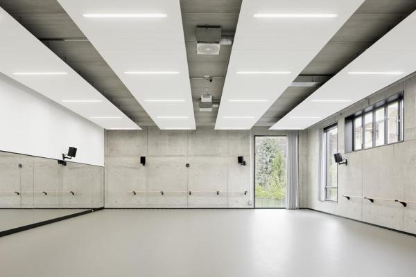 Ballet rooms, Image Courtesy © Marcus Bredt