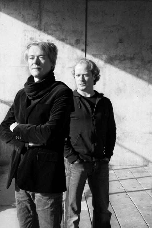 Alex Jager [left] and Rogier Janssen [right], Image Courtesy © Caren Huygelen