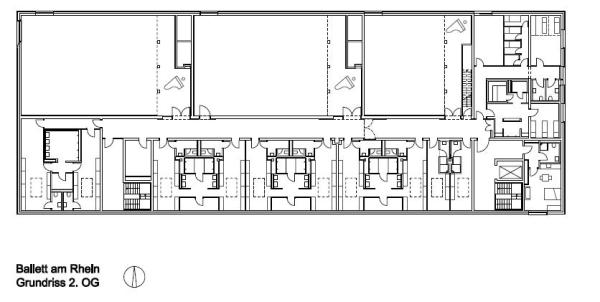 Floor plan second, Image Courtesy © gmp