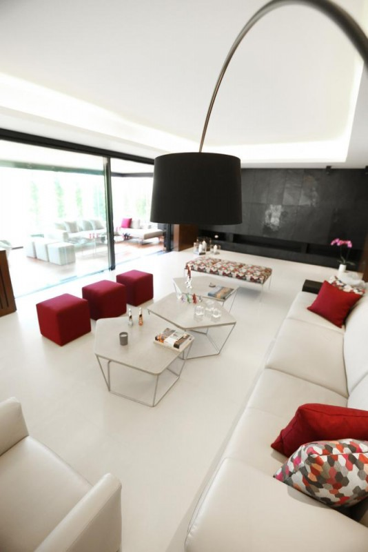 Living area view, Image Courtesy © RUDY BOU CHEBEL