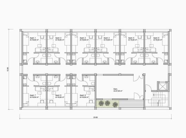 2nd Floor , Image Courtesy © herrmannsArchitekten