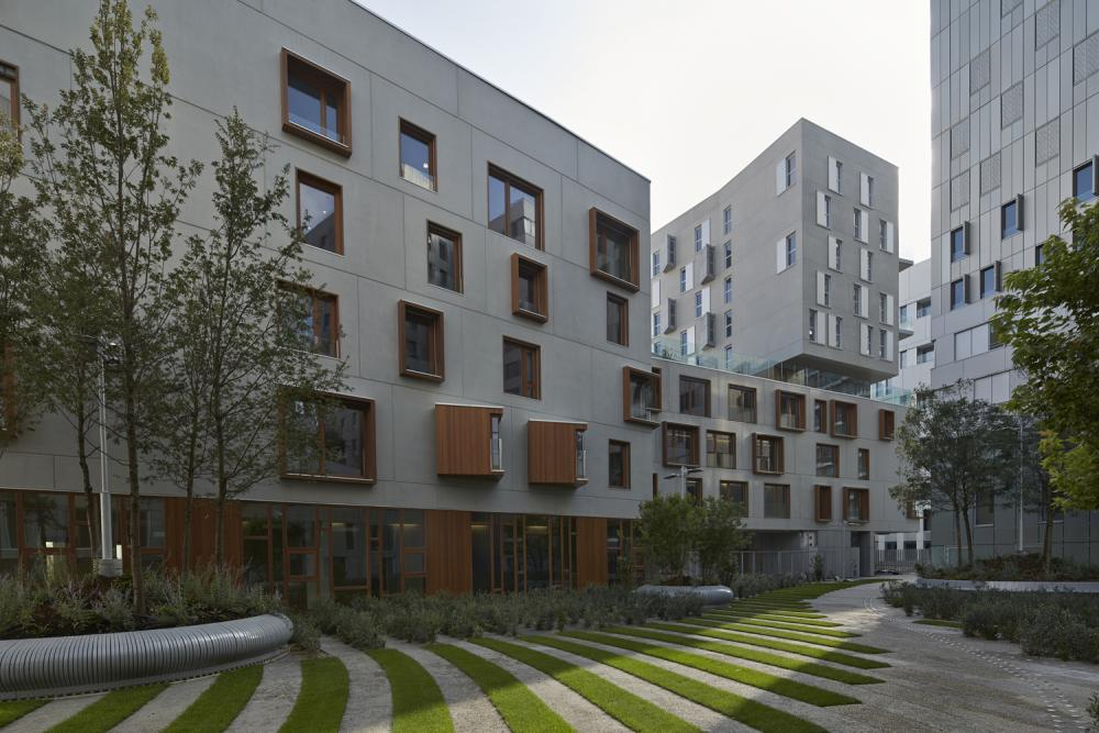 Nursing Home And Social Housing In Paris, France By Aasb_Agence