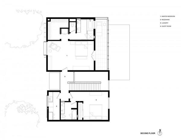Level 2 Plan, Image Courtesy © Studio VARA