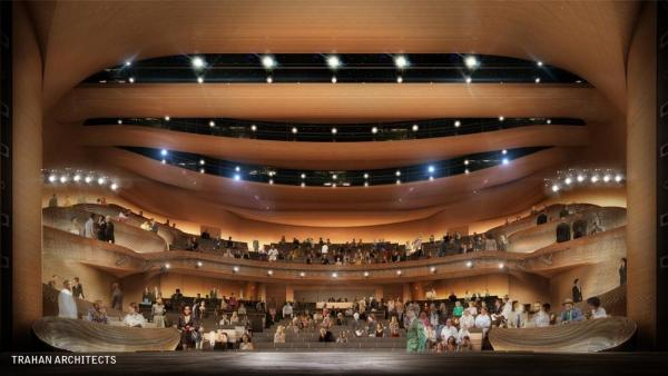 Theatre From Stage, Image Courtesy © Trahan Architects