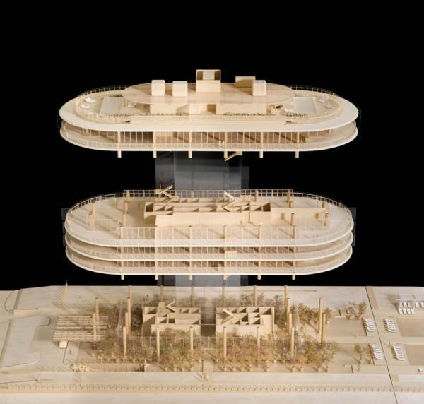 Study Model , Image Courtesy © RPBW, ph. Michel Denancé