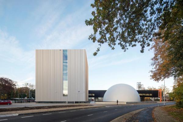 Museum quarter as gate to Kerkrade, Image Courtesy © René de Wit
