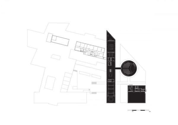 plan level +1, Image Courtesy © Shift Architecture