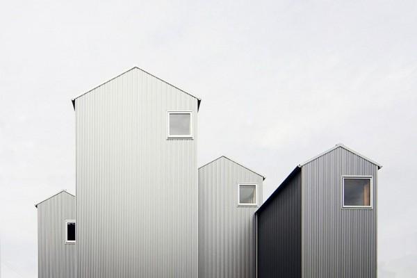 view from west side, Image Courtesy © Shuhei goto architects