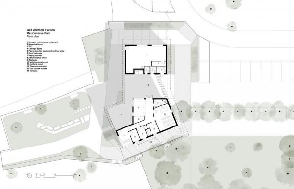 Floor plan, Image Courtesy © Cardin Ramirez Julien Inc.