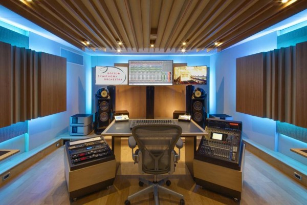BSO Control Room side view, Image Courtesy © Cheryl Fleming Photography