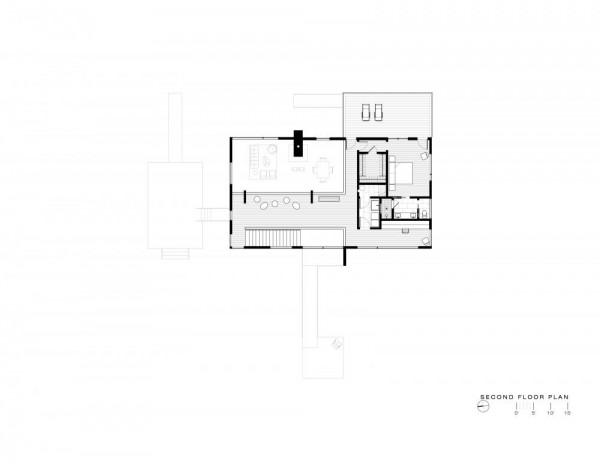 02_HouseOnSolitudeCreek_second floor plan