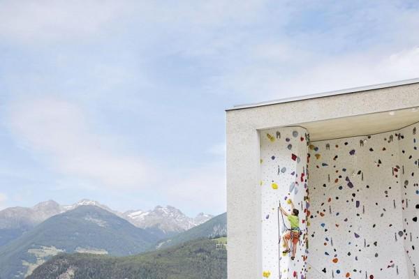 Outdoor climbing area, Image Courtesy © Rene Riller