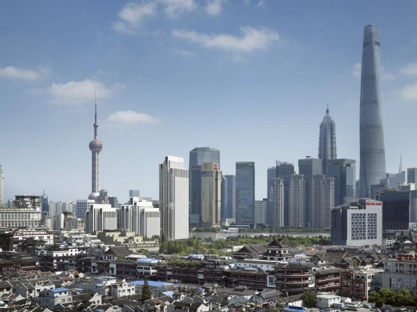 Skyline of Shanghai Bund and Pudong, Image Courtesy © gmp Architekten von Gerkan, Marg und Partner