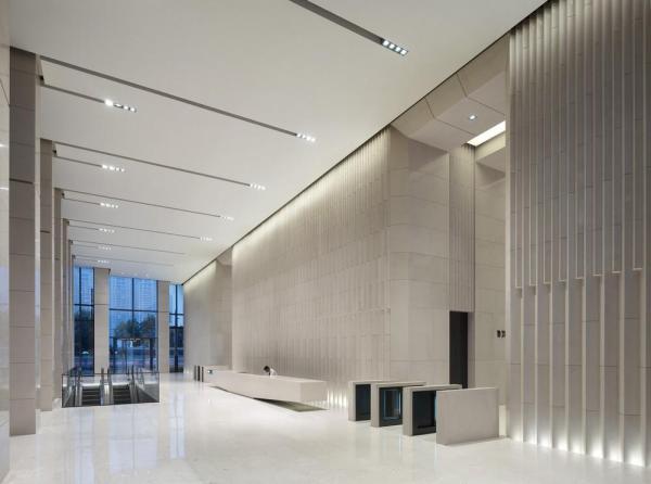 Foyer, Image Courtesy © gmp Architekten von Gerkan, Marg und Partner
