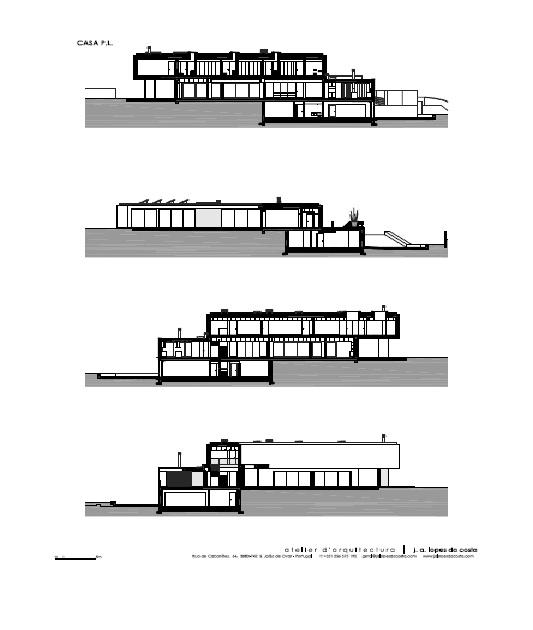 Image Courtesy © Atelier d' Arquitectura J. A. Lopes da Costa