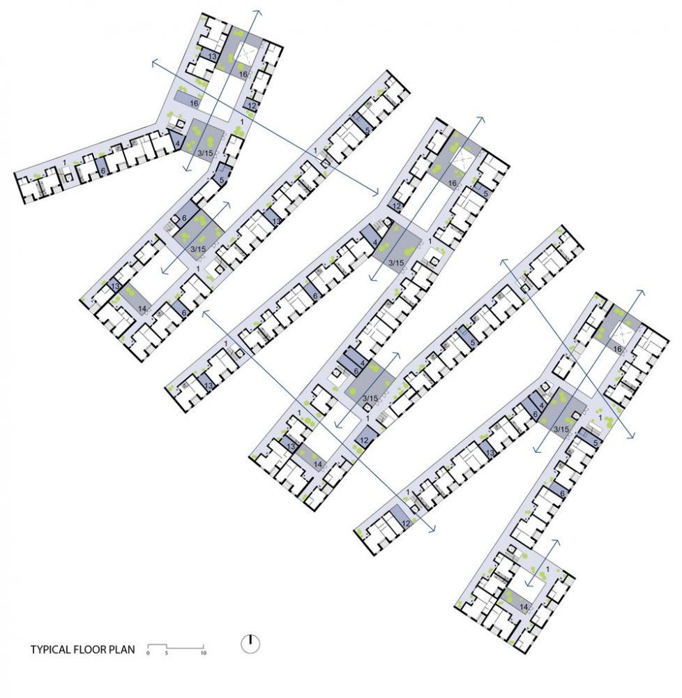 Social Housing In Bergen Norway By Rabatanalab Rocco Salomone
