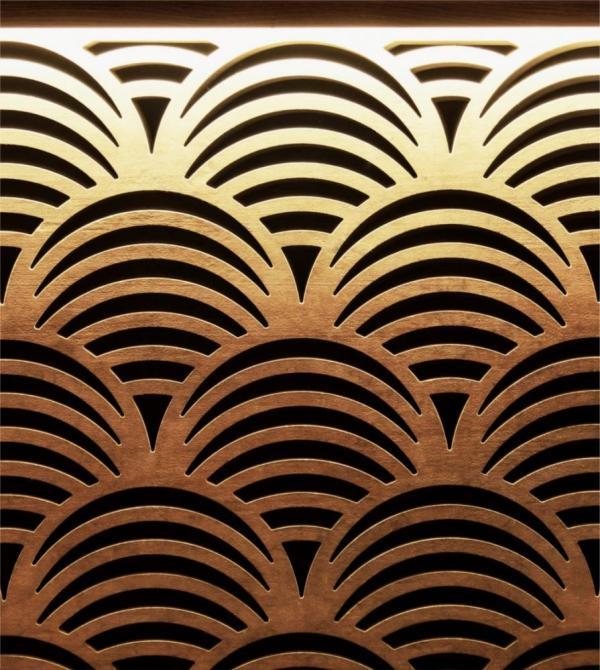 - wooden oriental pattern, Image Courtesy © Tsvetomir Dzhermanov