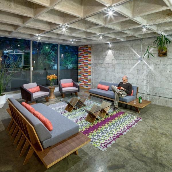 Living room, Image Courtesy © Rafael Gamo