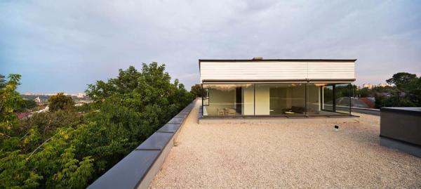roof-top pavilion, Image Courtesy © Andrey Avdeenko