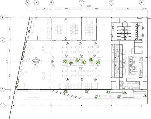 Ground floor plan, Image Courtesy © Hypothesis