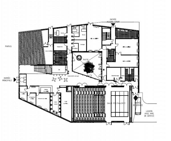 Image Courtesy © ateliers O-S architectes