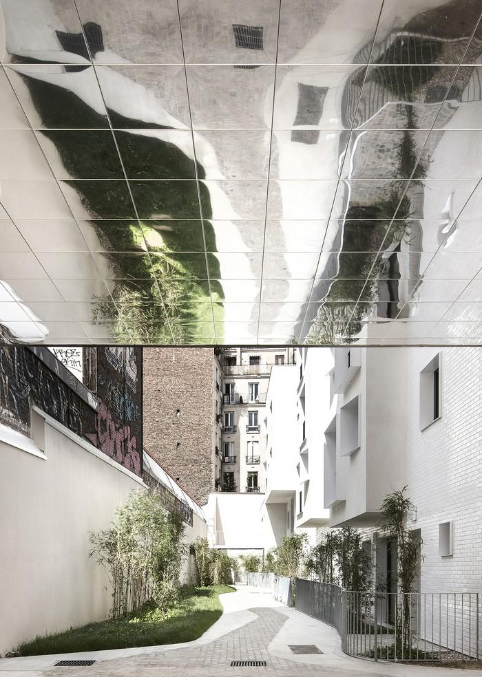 33 new and rehabilitated housing units in paris france by for Architecte urbaniste definition