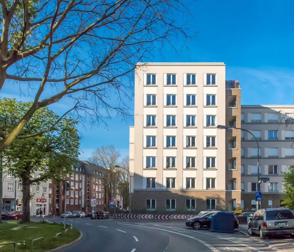naxos building in frankfurt germany by stefan forster. Black Bedroom Furniture Sets. Home Design Ideas