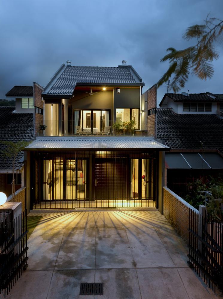 23 Terrace In Kuala Lumpur Malaysia By Drtan Lm Architect