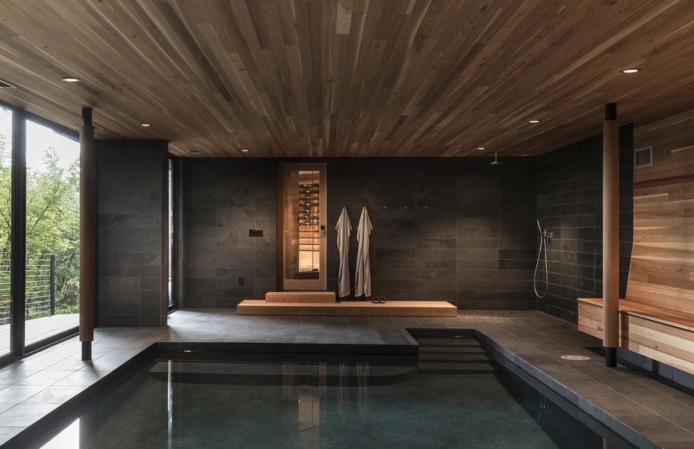 West Hills Residence In Portland Oregon By Fieldwork Design