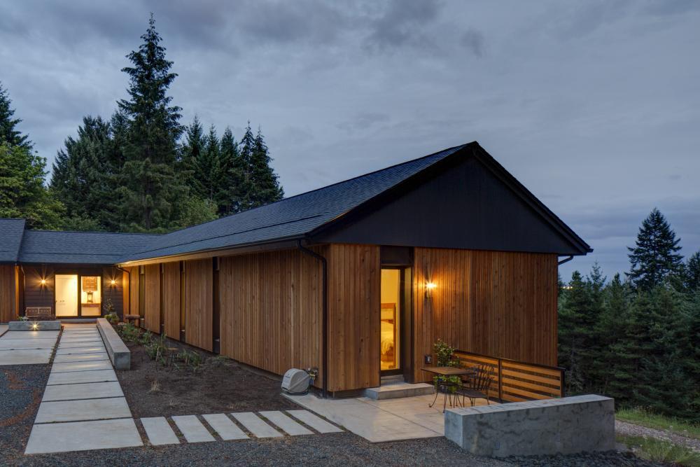 pumpkin ridge passive house in north plains oregon by scott. Black Bedroom Furniture Sets. Home Design Ideas