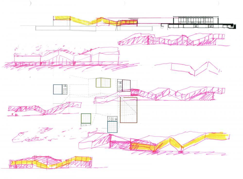 20th century art museum in berlin germany by rafi segal a u. Black Bedroom Furniture Sets. Home Design Ideas