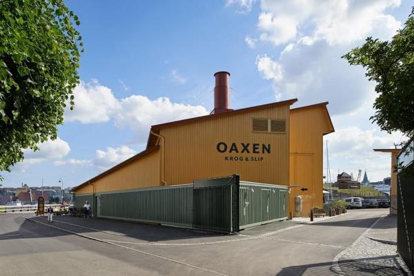 The new building has inherited the silhouette of the old shed it replaces, Image Courtesy © Åke E:son Lindman