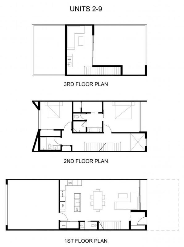 smaller unit plans, Image Courtesy © The Ranch Mine