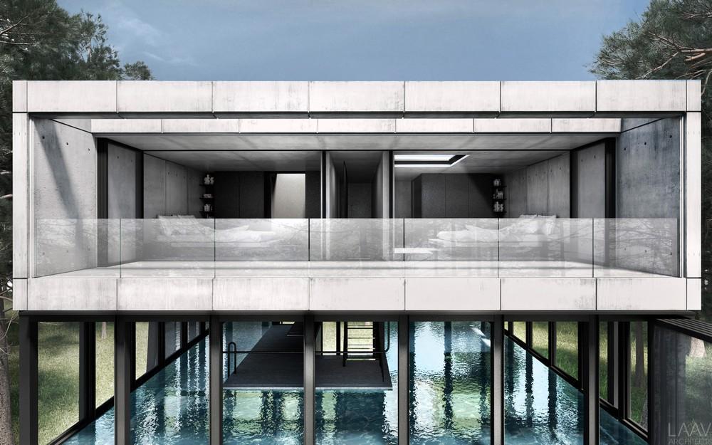 Archshowcase villa clessidra in netherlands by laav architects